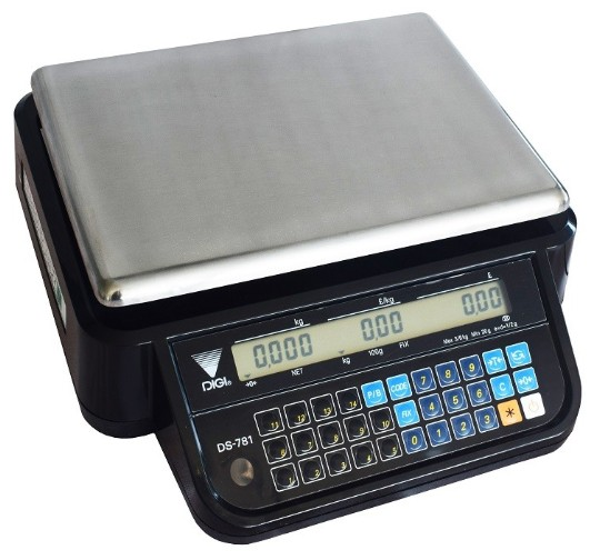 Digi DS-781 Trade Approved Price Computing Scale